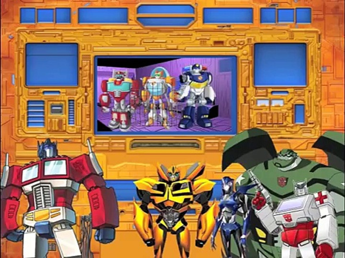 Transformers: Attack of the Rescue Bots