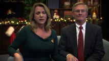 A holiday message from Secretary of the Air Force Deborah Lee James and her spouse Frank Beatty