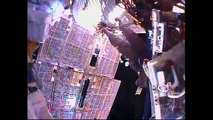Russian cosmonauts conduct spacewalk outside ISS