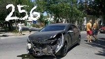 Compilación de Coche de los incidentes y Accidentes en la dashcam #256