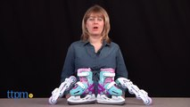 PlayWheels Frozen 2-in-1 Convertible Ice Skates from Bravo Sports