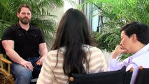 Olivia Munn and Ken Jeong Exclusive Interview RIDE ALONG 2 (2016)