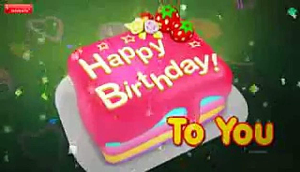 Groovy Happy Birthday Song Video Dailymotion Personalised Birthday Cards Petedlily Jamesorg