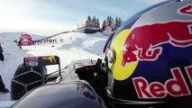 Piloter une formule 1 sur une piste de ski - Dingue