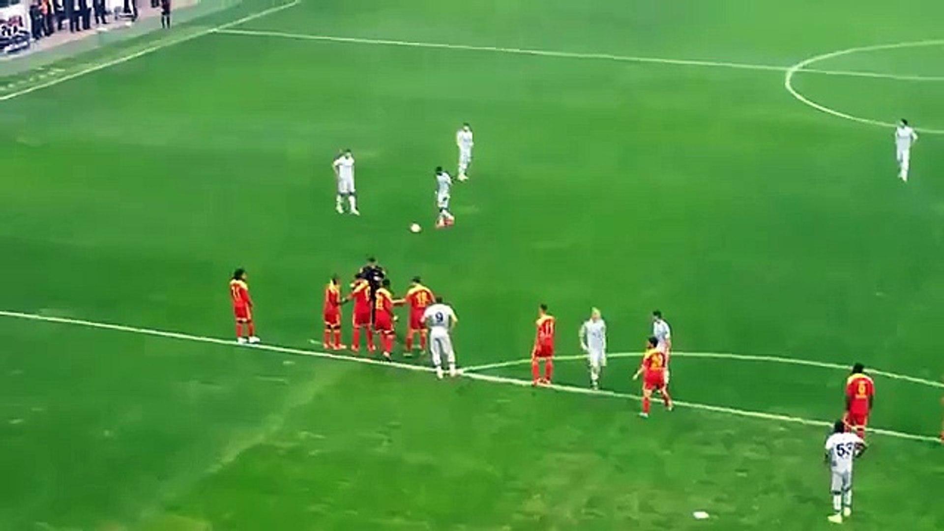 [HD] ROBIN VAN PERSIE | FRİKİK GOLU | Kayserispor - Fenerbahçe | Tribün Çekimi