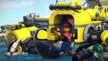 Мультик Лего Сити ПРИДУРКИ Открой Тайны Океана LEGO city WANKERS