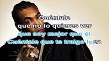 Don Omar - Dile - karaoke letra