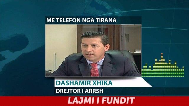 Report TV - Dashamir Xhika flet për situatën në akset rrugore 17.01.2016