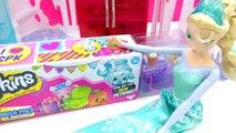 Disney Frozen Queen Elsa Unboxes Shopkins Season 4 MEGA 20 Pack Toy Video