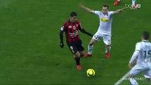 Les dribbles magnifiques de Hatem Ben Arfa contre Angers