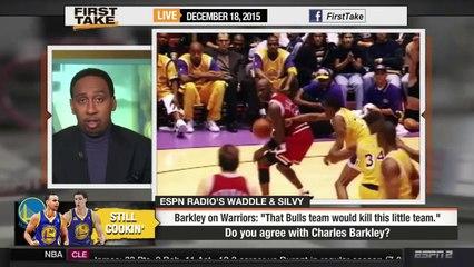 ESPN First Take Charles Barkley: Bulls 72 Win Team Would Kill Warriors