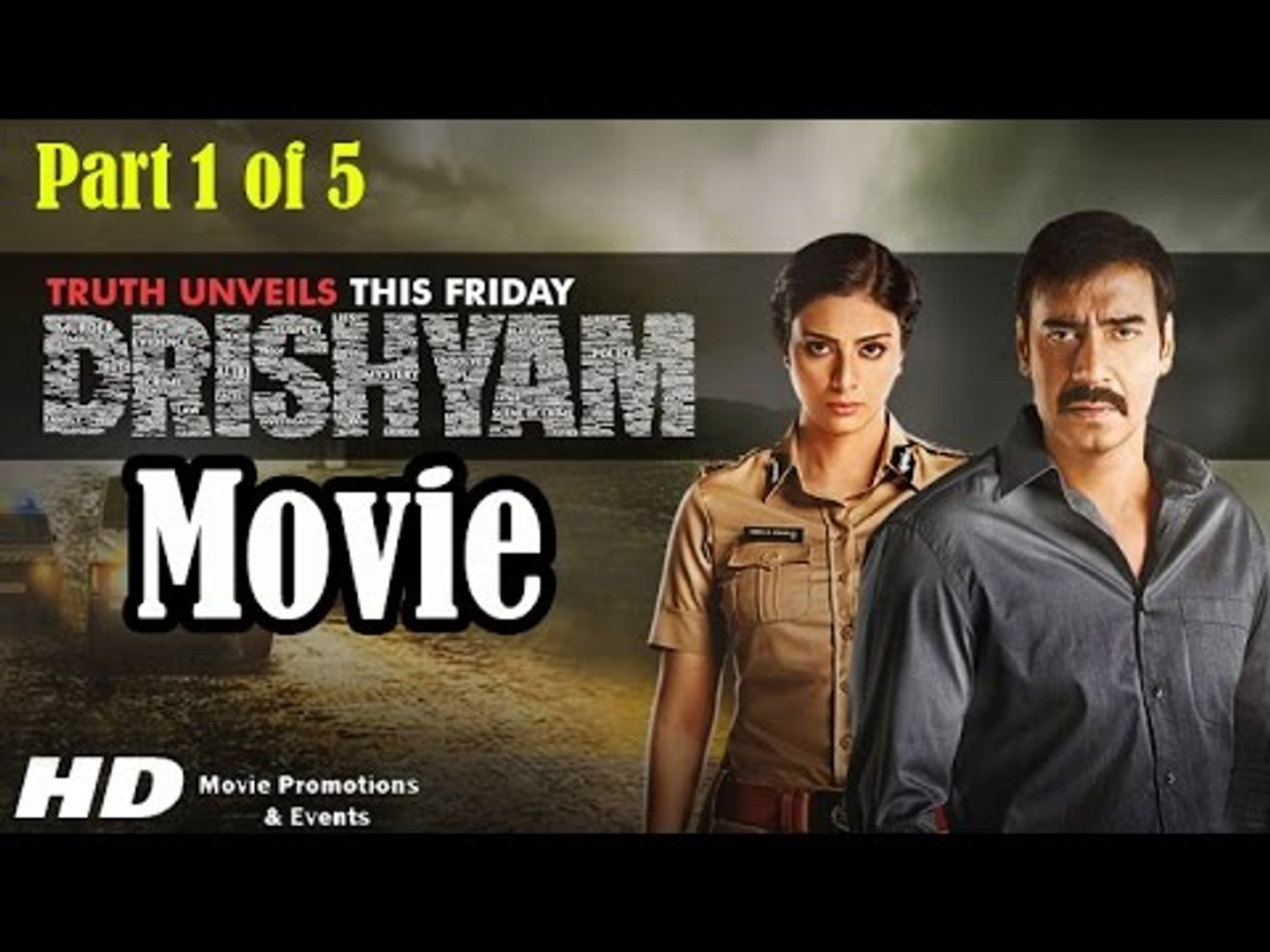 Drishyam Full Movie 2015 Part 1 Of 5 Ajay Devgan Tabu Shriya Saran Full Movie Promotions