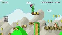 "Super Mario Maker - Viewer Levels - Name: ""Donut THWOMP Romp"" - ID: 298C-0000-0151-D22D"