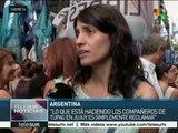 Argentina: exigen en Buenos Aires no criminalizar protesta social