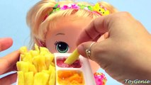 Baby Alive Snackin Sarah Eats Yummy Nummies Fries and Poops