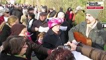 VIDEO. Coussay-les-Bois (86): 500 personnes à la marche festive contre les 1200 taurillons