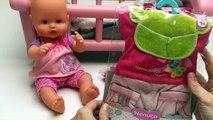 Baby Doll Comment Changer les Couches de bébé Nenuco Bébé Poupées Coucher les Bébés nouveau-nés Bébé Nenuco Poupée Vidéos