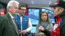 DICI TV - Rencontre entre Jean-Marie-Bernard et le ski club de Serre Chevalier