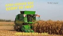 John Deere T560 Agro Service RDS mais dorsen 2014