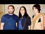 Bajrangi Bhaijaan Screening   Aamir Khan With Daughter Ira Khan