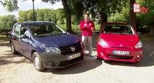 Video Mitsubishi Space Star vs Dacia Sandero