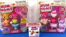 Num Noms! Tutti Frutti Ice Cream & Triple Berry Cupcake Starter Packs! Lip Gloss Blind Box