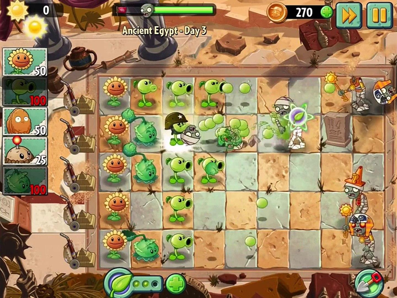 овощи против зомби 2 игра египед часть 1 # 2