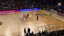 [HIGHLIGHTS] FUTSAL (LNFS): FC Barcelona Lassa - Catgas Santa Coloma (5-2)