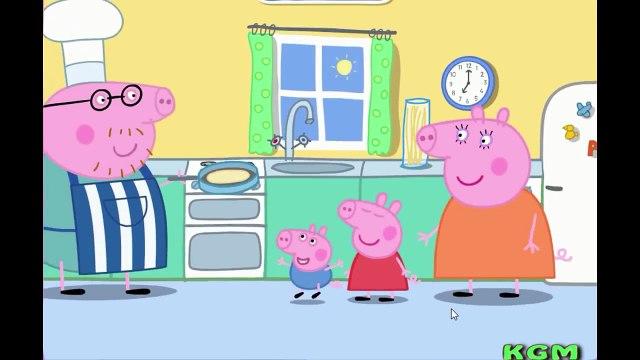 Peppa Pig Full Episodes - Daddy Pigs Pancake Game | Peppa Pig English Episodes