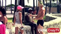 Bodybuilder Picking Up Hot Girls With MUSCLES - Picking Up Girls With Abs and Muscles Pran