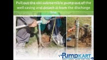 How to Install Submersible Pumps - Submersible Pumps India
