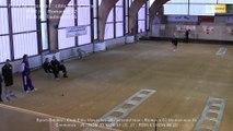 Second tour, point de précision, Club Elite Masculin J8, Romans vs Montélimar, Sport-Boules, saison 2015-2016