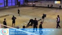 Quatrième tour, Club Elite Masculin J8, Romans vs Montélimar, Sport-Boules, saison 2015-2016