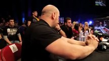 Dana White's reaction when Nick Diaz knocked out Paul Daley