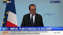 Plan contre le chômage de Hollande : cxe qu'il faut retenir