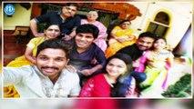 Exclusive : Sankranthi Sambaralu in Allu Arjun's House || Allu Arvind