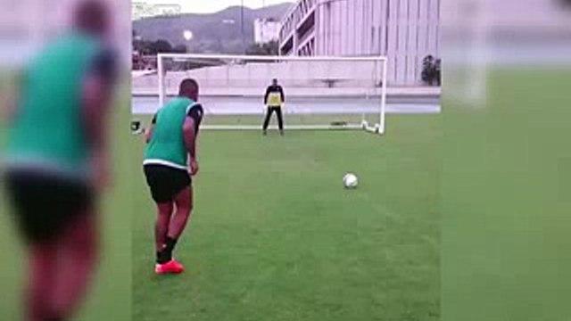 Best Penalty Kick Ever! Football trick   Liveleak video