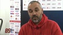 Foot. Luçon vs Dunkerque (0-1) : Interview des entraîneurs