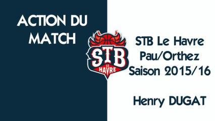STB - PAU - Action du match