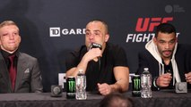 Eddie Alvarez believes he deserves a title shot, believes his fight was a clear win