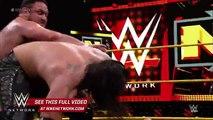 Sami Zayn vs. Baron Corbin vs. Samoa Joe – NXT Title No. 1 Contender's Match: WWE NXT, Jan. 27, 201