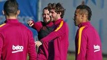 FC Barcelona training session: Barça primed for Copa quarter-finals
