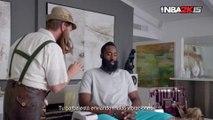 """¡NBA 2K15 presenta """"El gurú de la barba"""", con James Harden!"""