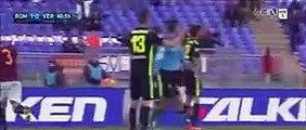 All Goals & Highlights ~ AS Roma 1-1 Hellas Verona ~ 14_1_2016 [Serie A] -
