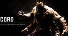Mortal Kombat X - Goro Trailer - Mortal Kombat 10