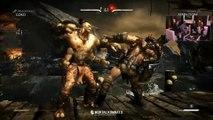 Mortal Kombat X - Goro vs Ferra_Torr Gameplay