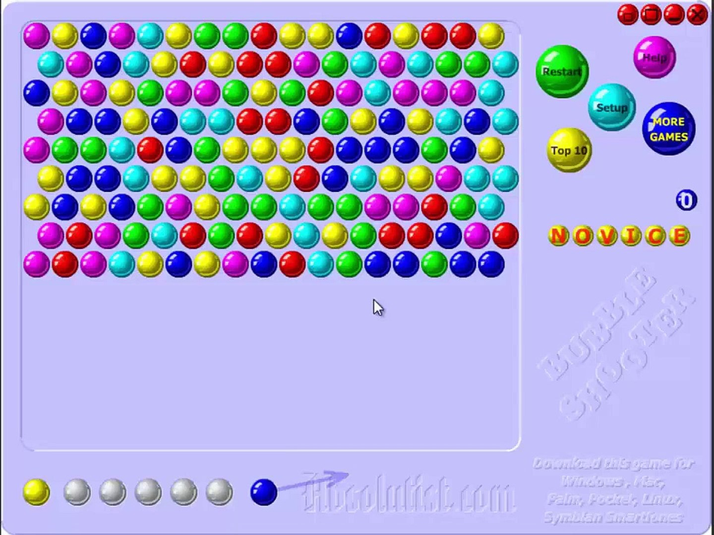 [ GamePlay Video ] Bubble Shooter Gameplay