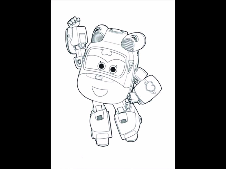 Harika Kanatlar Boyama Sayfalari Super Wings Dailymotion Video