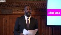 Idris Elba urges greater diversity in media