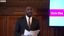 Idris Elba urges greater diversity in media